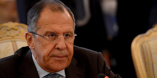 Sergey Lavrov'dan küstah açıklamalar!
