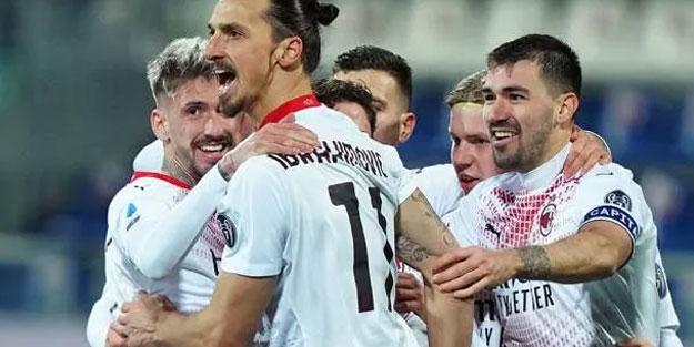 Serie A'da Milan, Cagliari engelini aştı