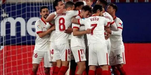 Sevilla deplasmanda rahat geçti