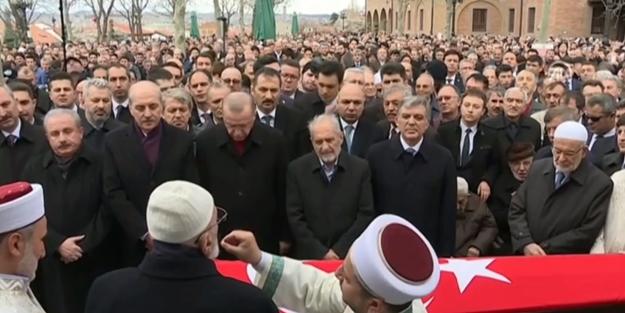 Şevket Kazan ebediyete uğurlandı