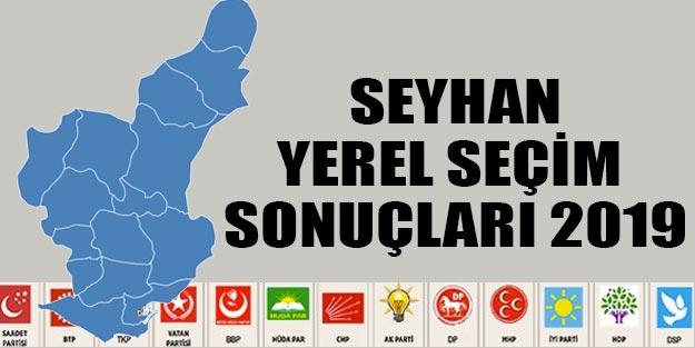 Seyhan yerel seçim sonuçları 2019 | Yerel seçim Seyhan sonuçları partilerin oy oranları