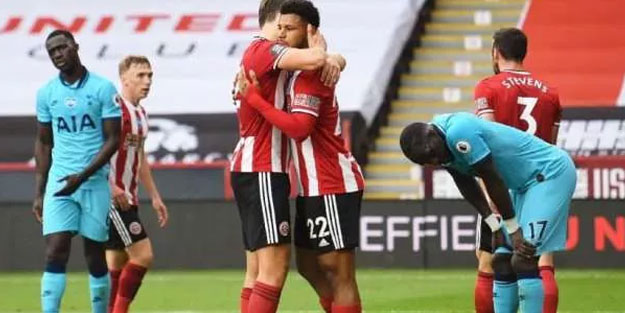 Sheffield United Tottenham'ı ezdi geçti
