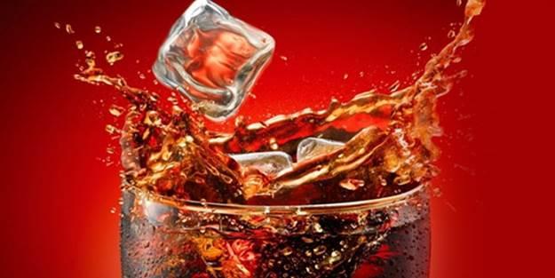 Sıcaklarda sakın kola içmeyin!