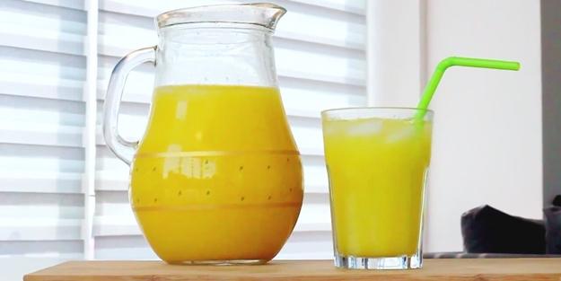Sıcaklarda serinleten içecek tarifi!