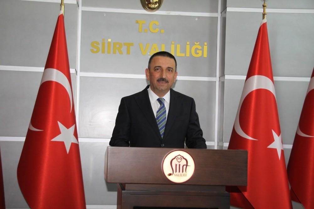 Siirt Valisi Osman Hacıbekteşoğlu göreve başladı