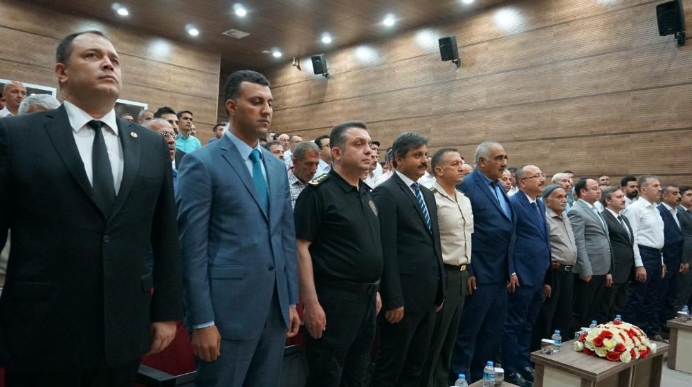 Siirt'te Kıbrıs gazilerine madalya ve berat tevcih töreni düzenlendi