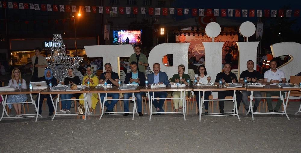 Siirt'te ramazan etkinliği devam ediyor