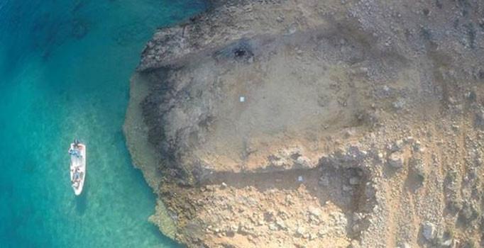 Silifke İlçesi Dana Adası'nda 3 bin 200 yıllık tersanede bulundu