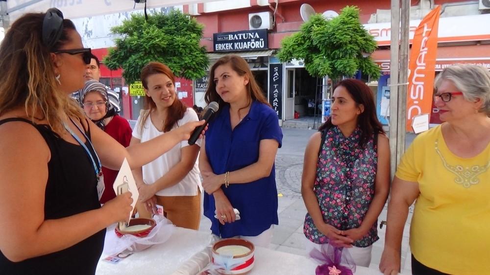 Silivri Yoğurt Festivali renkli görüntülere sahne oldu