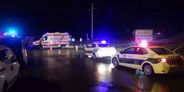 Silivri'de feci kaza: 2 kişi öldü