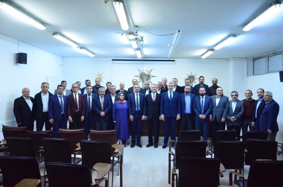 Simav'dan Başkan Ceyhun'a 'Hayırlı olsun' ziyareti