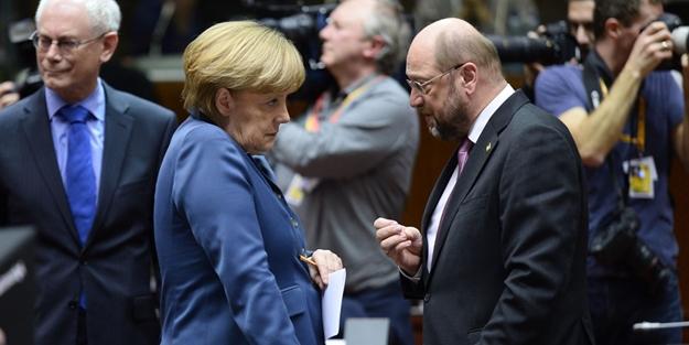 Şimdi Merkel ve Schulz düşünsün!