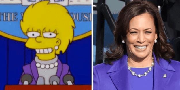 Simpsonlar 20 yıl önceden yine bildi! Bu sefer Joe Biden'in yardımcısı...