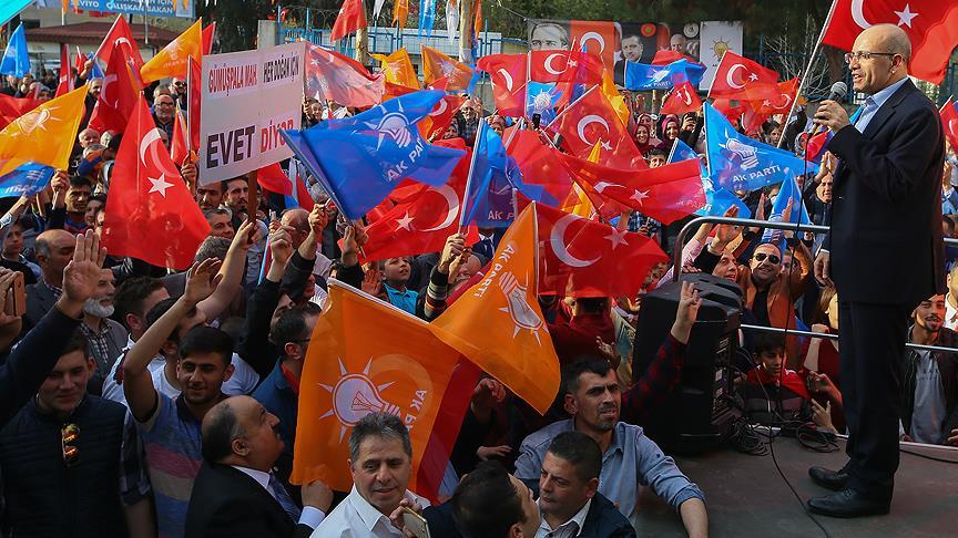 Şimşek: Avrupa, Türkiye'nin önü açılacak korkusuyla ilkelerini çiğniyor