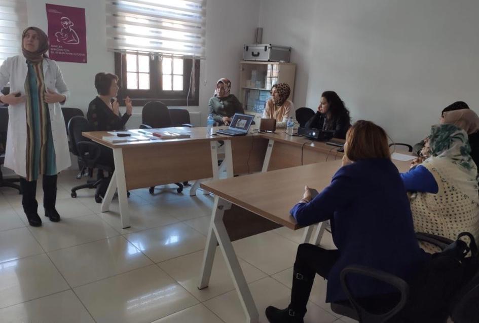 Sincan'da anne adaylarına sertifikalı eğitim