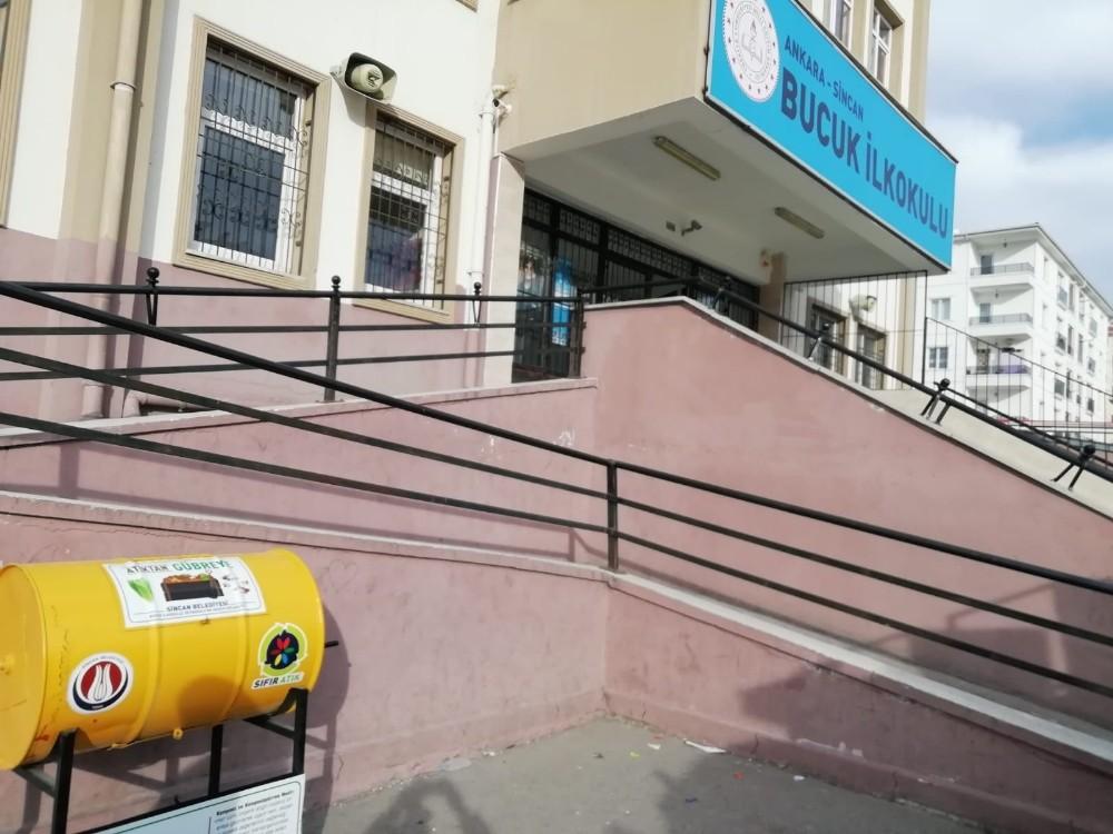 Sincan'da öğrenciler okullarda organik gübre üretecek