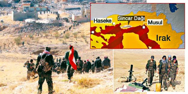 Sincar PKK/PYD'den tamamen temizlenecek