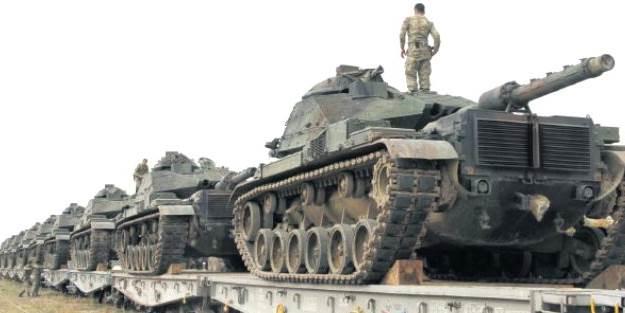 Sınıra 30 bin Türk askeri