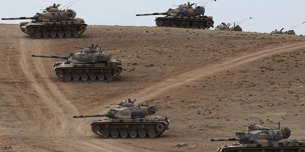 Sınırda hareketli saatler: Tanklar konuşlandı