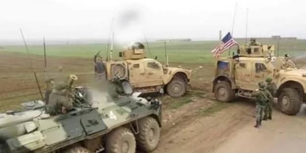 Sınırda tehlikeli gerginlik! Askeri konvoyun önünü kestiler