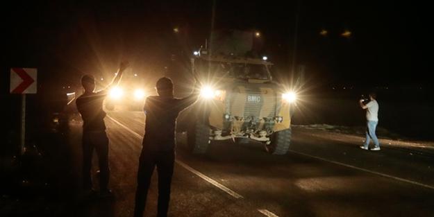 Sınırdaki birliklere araç ve komando takviyesi