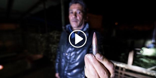 Sınırdaki evlere uçaksavar mermisi isabet etti