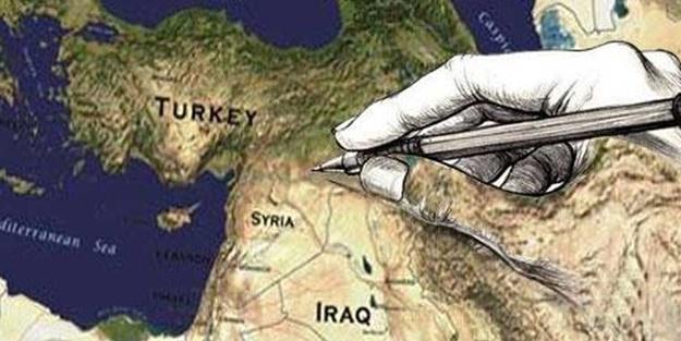 Sınırlar değişecek, yeni harita İstanbul'da çizilecek