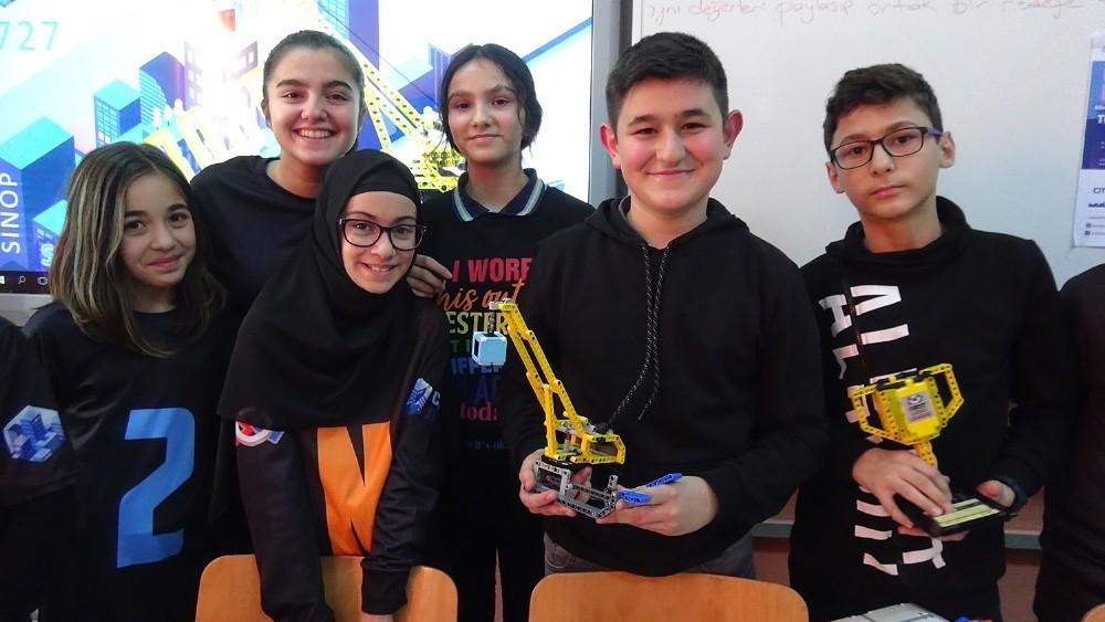 Sinop Seyit Bilal İmam Hatip Ortaokulunun başarısı