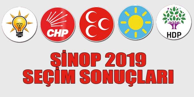 Sinop yerel seçim sonuçları 2019 | Sinop ilçeleri yerel seçim sonuçları
