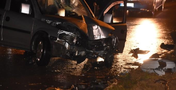 Sinop'ta trafik kazası: 2 kişi yaralı