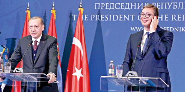 """Sırbistan Cumhurbaşkanı'ndan çarpıcı itiraf: """"Bana burada Erdoğan kadar ilgi gösterilmez"""""""