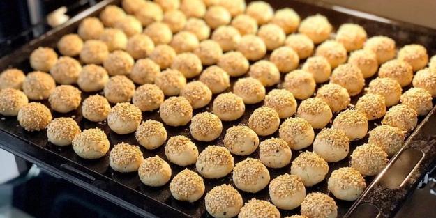 Sirkeli susamlı tuzlu kurabiye tarifi