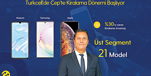 Şirketlere hem kredi hem cihaz kiralama avantajı! Turkcell'de cep'te kiralama dönemi başlıyor