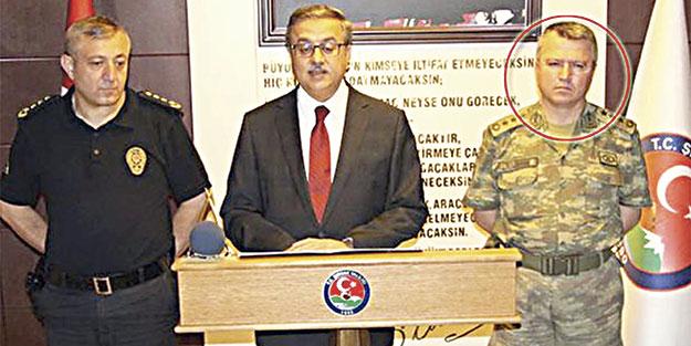 Şırnak komutanı gözaltına alındı