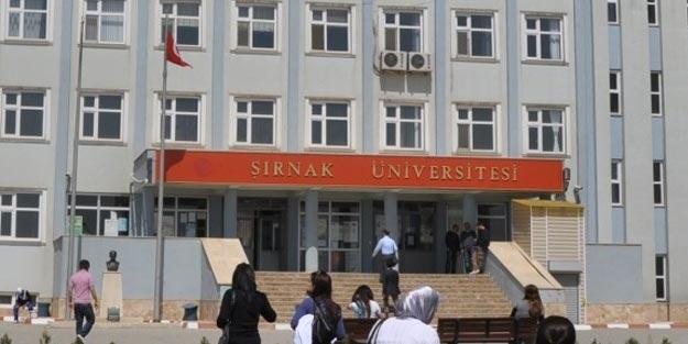 Şırnak Üniversitesi taban puanları 2019