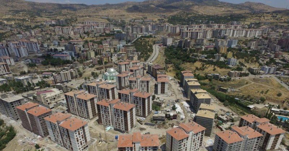 Şırnak'ta 2 yılda 1 kent kuruldu