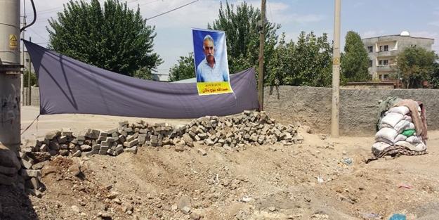 Şırnak'ta Apo posterleri asıldı!