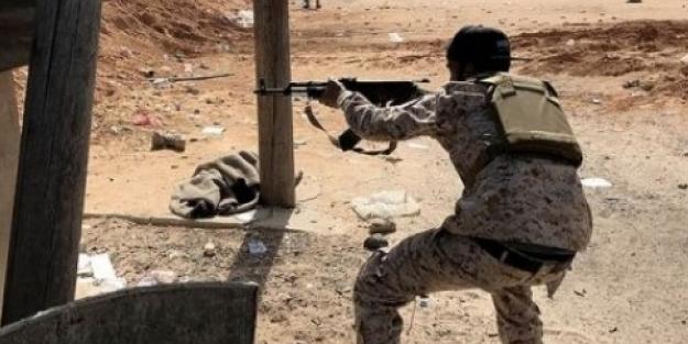 Sirte'de Hafter'e bağlı 20 terörist öldürüldü!