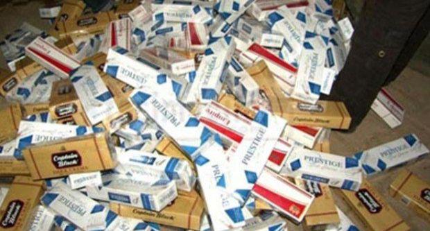 3 bin 450 paket kaçak sigara ele geçirildi