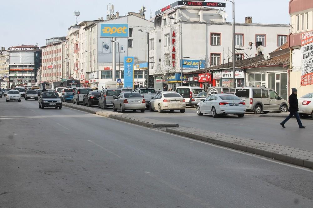 Sivas'ta araç sayısı 161 bine dayandı