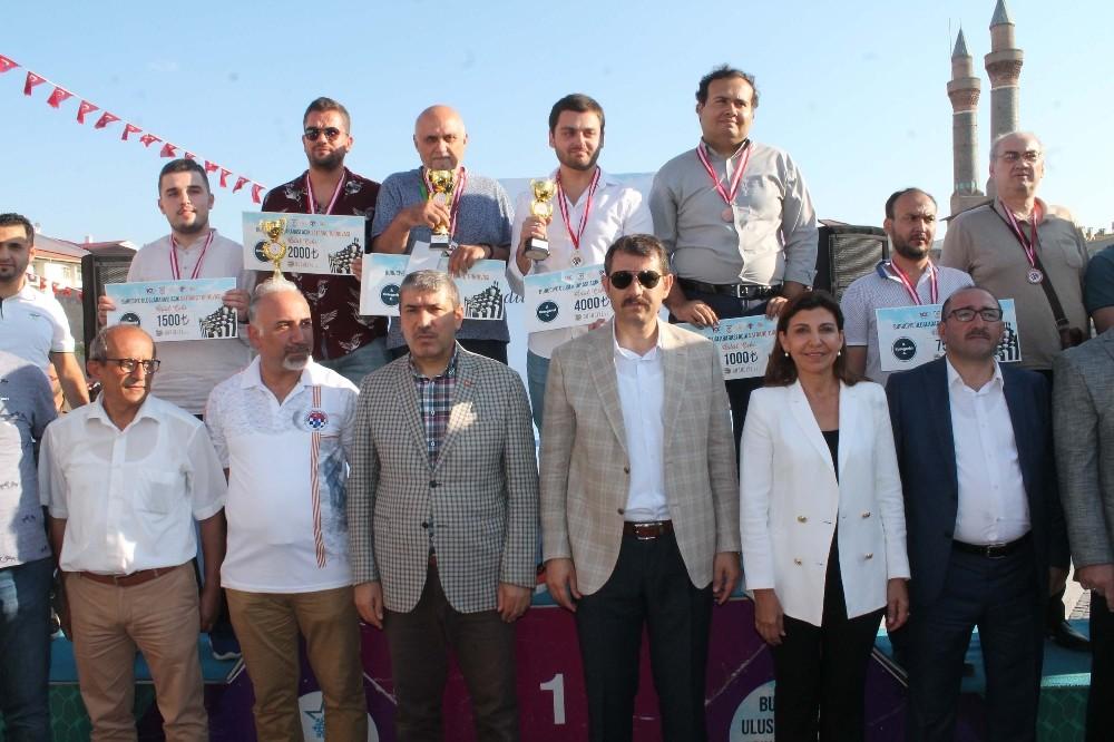 Sivas'ta düzenlenen Uluslararası Açık Satranç Turnuvası sona erdi