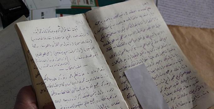 Sivas'ta Şeyh Ömer'e ait olan 200 yıllık kitap bulundu