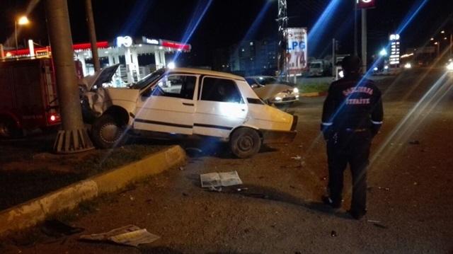 Siverek'te trafik kazası: 2 yaralı!