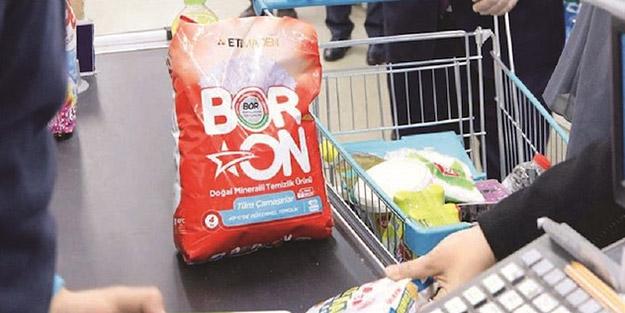 Sıvı Boron da rafa çıkıyor
