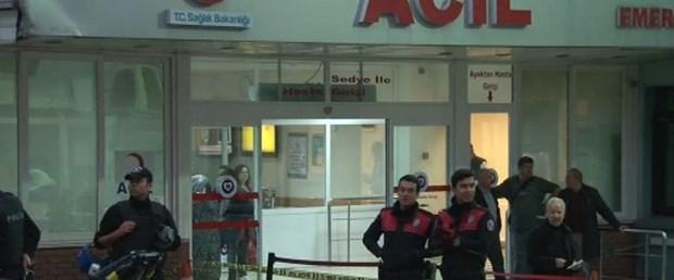 Siyami Ersek Hastanesi önünde silahlı kavga: 4 kişi yaralı