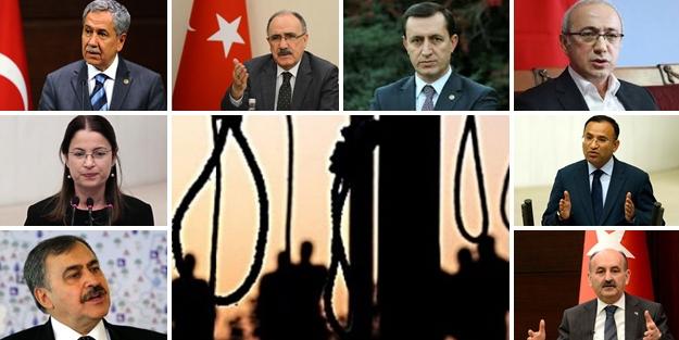 Siyasiler Mısır'daki idam kararlarını değerlendirdi