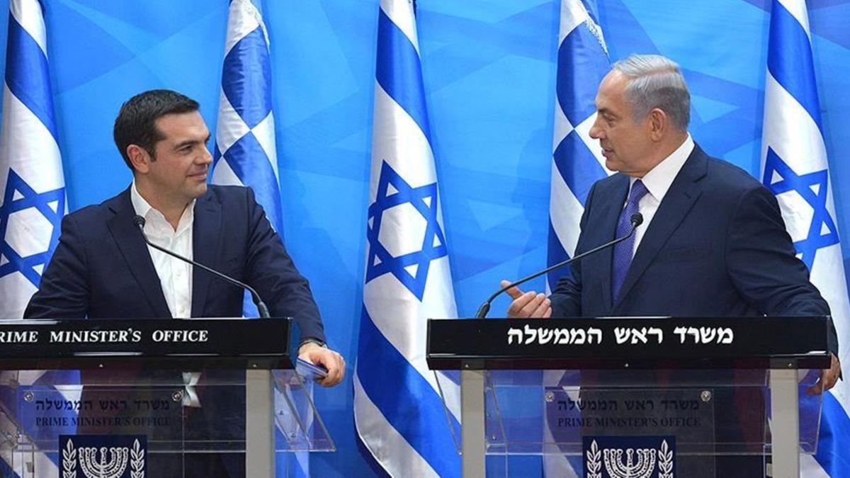 Siyonist İsrail, yine Yunan'a destek verdi