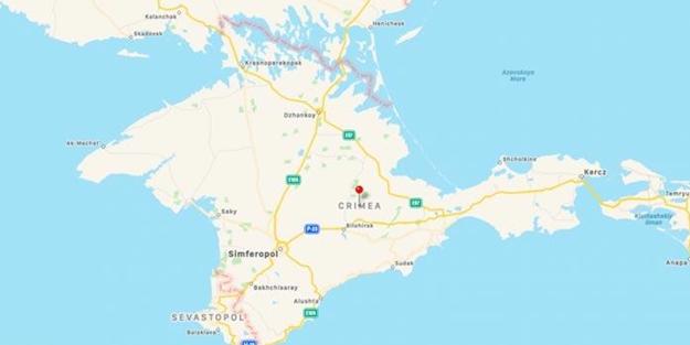 Skandal 'Kırım' haritası! Rusya istedi, Apple yaptı
