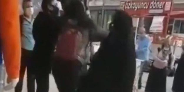 Skandal olay tepki çekti! Maske almak isteyen başörtülü kadına küstah sözler