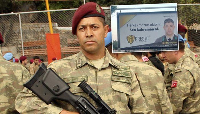 Skandal reklama Ömer Halisdemir'in ailesinden tepki
